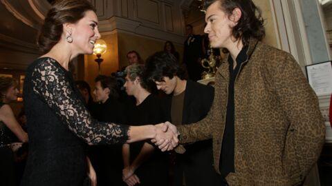 PHOTOS Kate Middleton passe une soirée avec les One Direction et Ed Sheeran