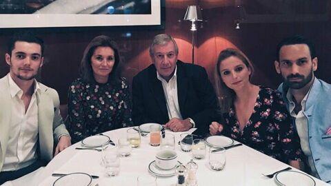 Louis Sarkozy se moque (gentiment) d'une photo de famille sur Instagram