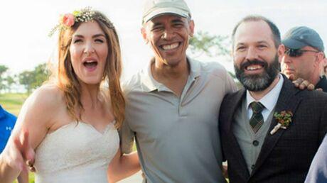 PHOTOS Barack Obama s'invite à un mariage