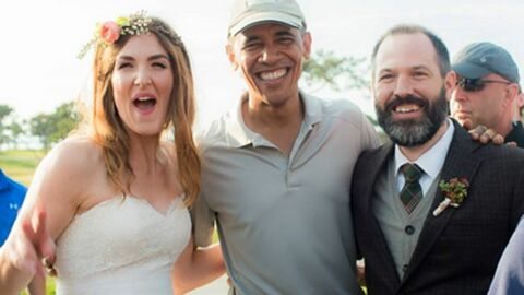 PHOTOS Barack Obama s'invite à un mariage