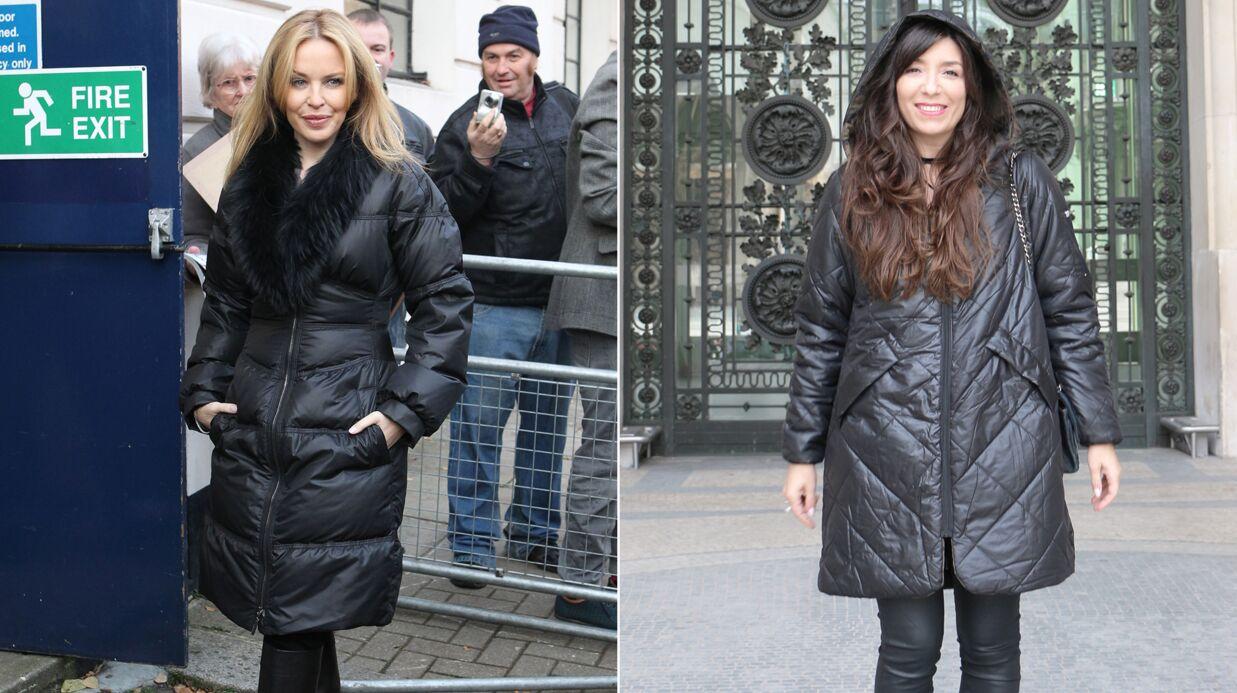 Le shopping de Marieluvpink: la longue doudoune noire comme Kylie Minogue