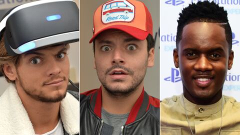 PHOTOS Kev Adams, Black M, Rayane Bensetti : tous gaga du casque Playstation VR