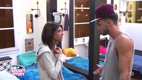 Secret Story 10: Bastien et Mélanie au bord de la rupture