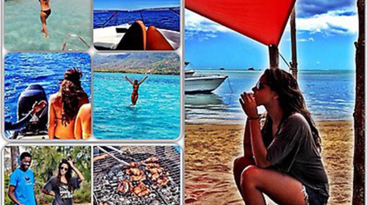 Shy'm poste ses photos de vacances sur Twitter