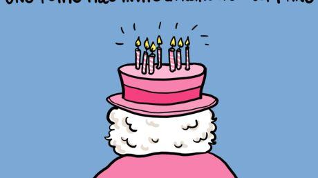Louison a croqué: Elizabeth II répond à une fillette qui l'a invitée à sa fête d'anniversaire