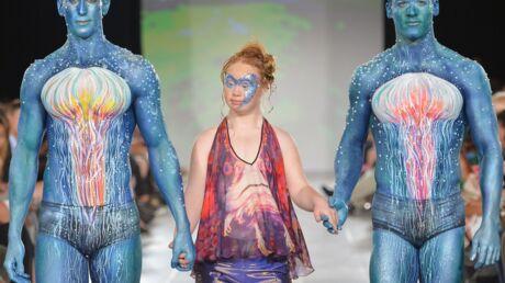 VIDEO Madeline Stuart, le jeune mannequin trisomique, a défilé pour la première fois à New York