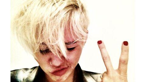 Miley Cyrus assume sa nouvelle coiffure et clashe