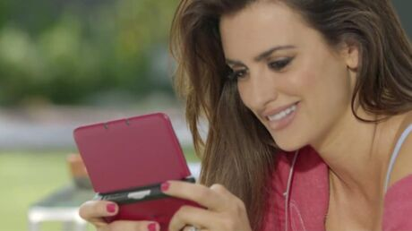 VIDEO Penélope Cruz se transforme en Mario pour Nintendo