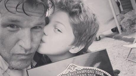 PHOTO Benjamin Castaldi poste un selfie avec Enzo, le fils qu'il a eu avec Flavie Flament