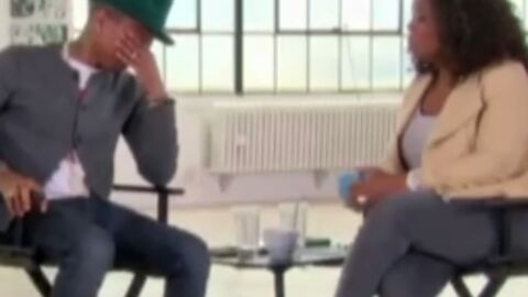 VIDEO Pharrell Williams en larmes devant l'enthousiasme suscité par son titre Happy