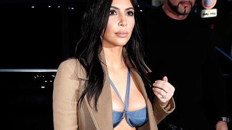 PHOTOS Kim Kardashian en soutien-gorge dans les rues de Paris