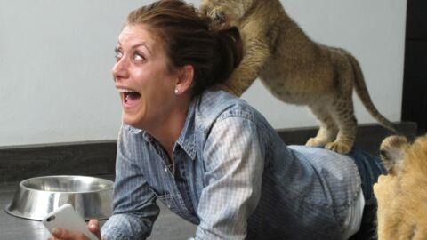 Les photos trop craquantes de Kate Walsh (Grey's Anatomy) avec des lionceaux