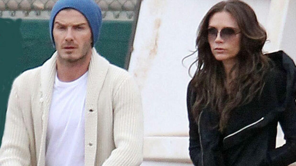 David et Victoria Beckham visitent des apparts à Paris