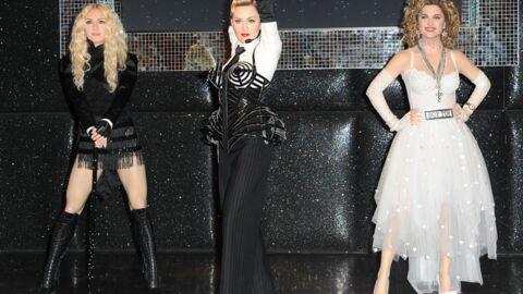 Madonna: trois statues de cire chez Madame Tussauds