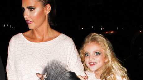 PHOTOS Katie Price: à 8 ans, sa fille arbore un maquillage outrancier