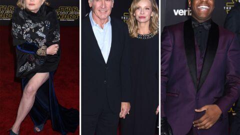 DIAPO Avant-première de Star Wars: les stars du film s'éclatent, les guests sortent le grand jeu