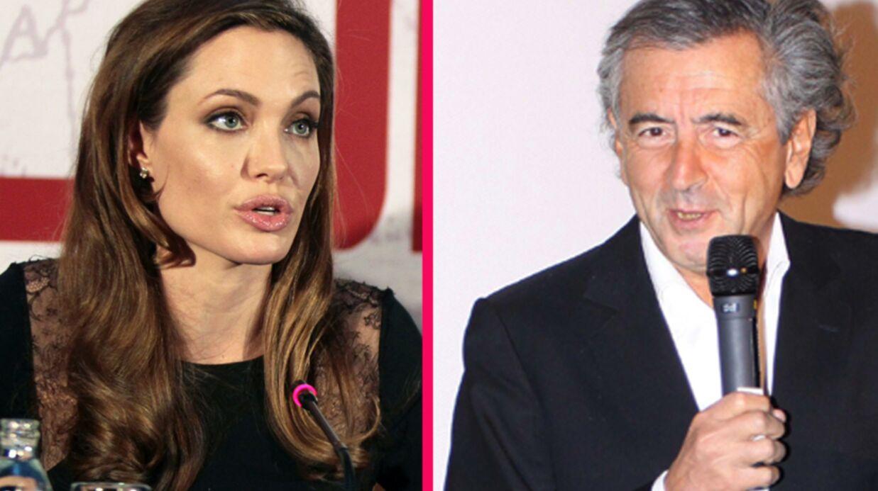 Angelina Jolie à Paris aux côtés de Bernard-Henri Lévy
