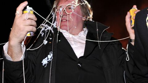 PHOTOS Gérard Depardieu déchaîné au Carnaval de Nice