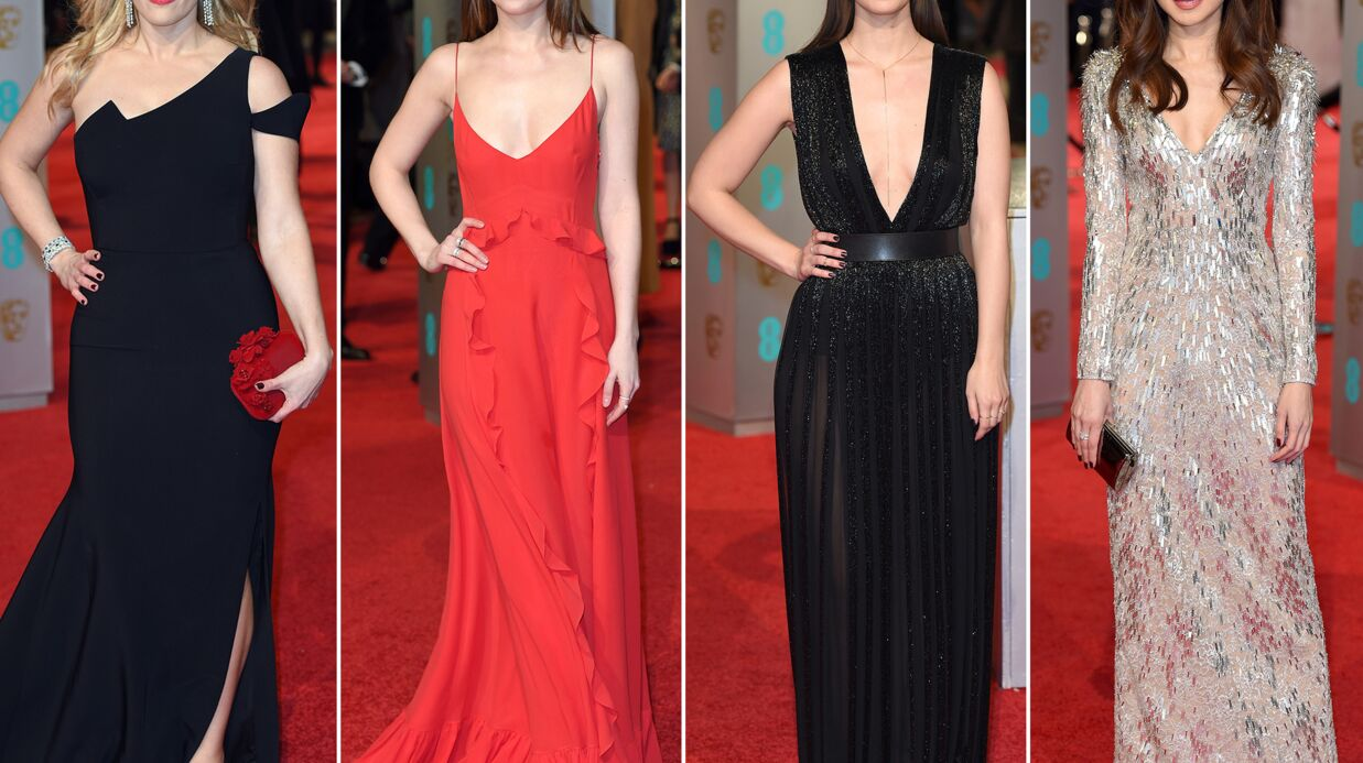 DIAPO BAFTA 2016: un tapis rouge sous le signe du décolleté