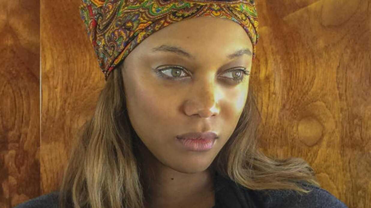 PHOTO Le mannequin Tyra Banks dévoile la bouille de son fils
