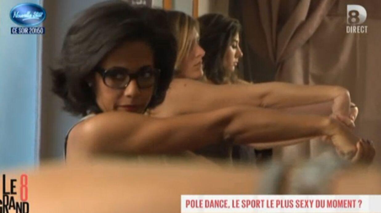 VIDEO Audrey Pulvar fait de la pole dance