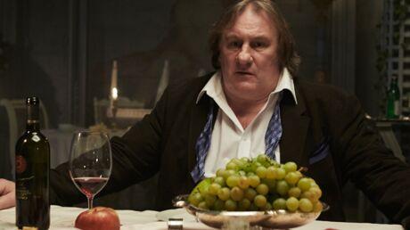 Gérard Depardieu fête son permis belge à coups de vin rouge