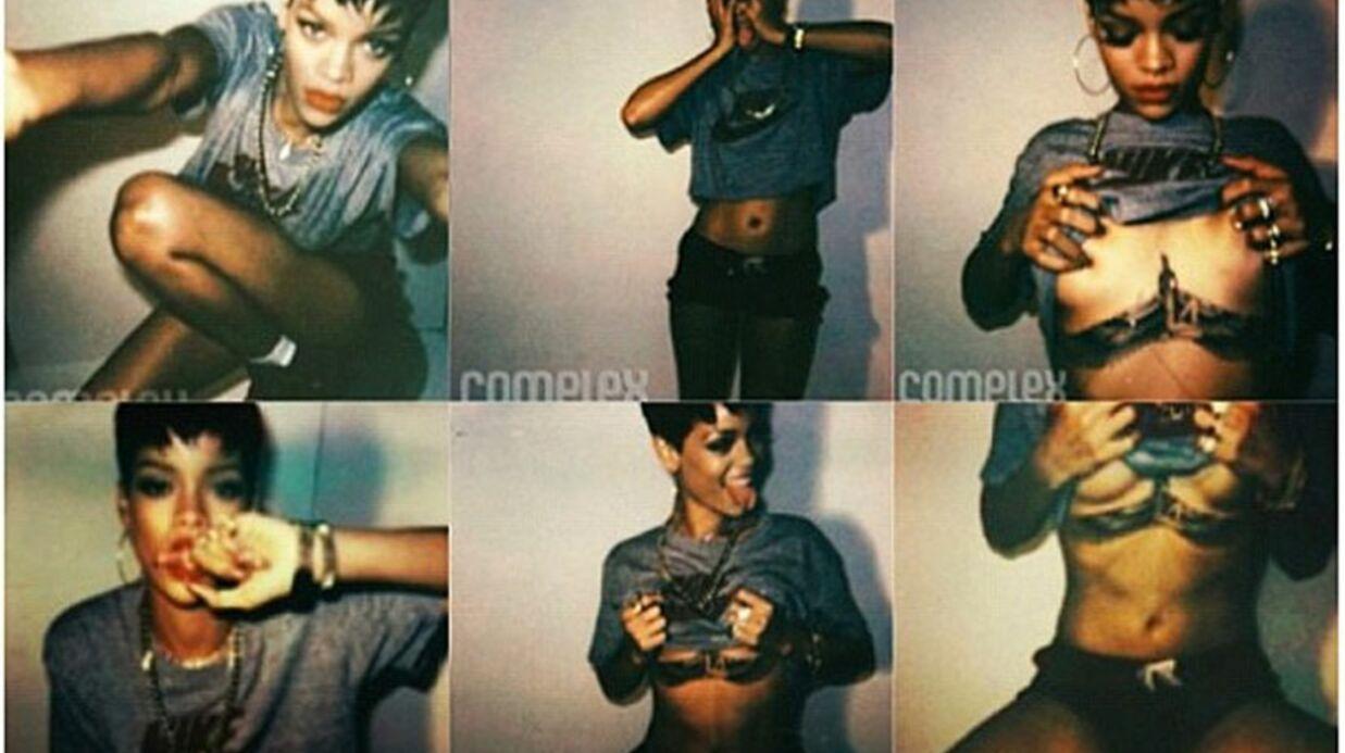 DIAPO Rihanna s'offre une nouvelle séance photo très hot