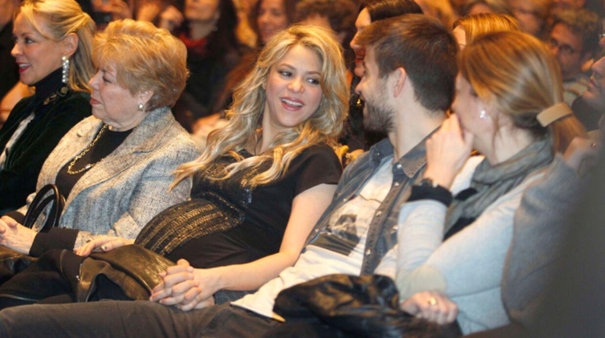 PHOTOS Shakira très enceinte avec son père et son chéri