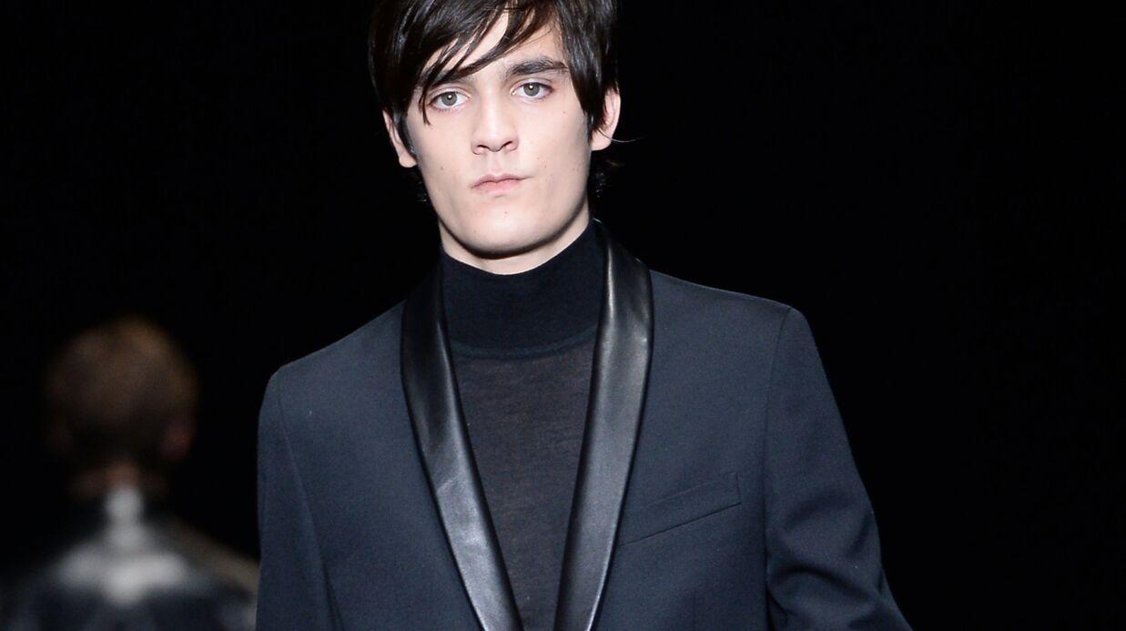 PHOTOS Alain-Fabien Delon joue les mannequins à la fashion week de Milan