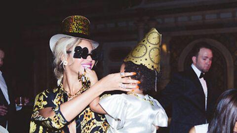 DIAPO Beyoncé publie des photos de l'anniversaire de Blue Ivy