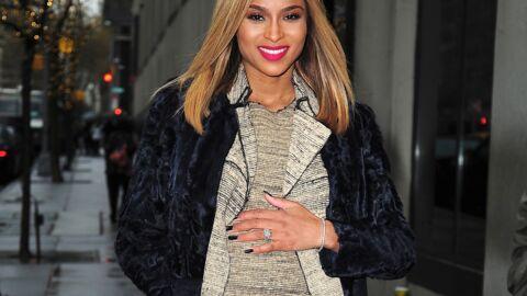 Ciara est enceinte de son premier enfant