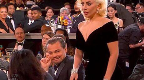 Leonardo DiCaprio effrayé par Lady Gaga aux Golden Globes: il assure qu'elle ne lui en veut pas