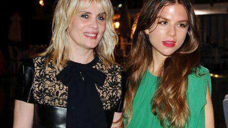 DIAPO Le fou rire d'Emmanuelle Seigner avec sa jolie fille de 20 ans
