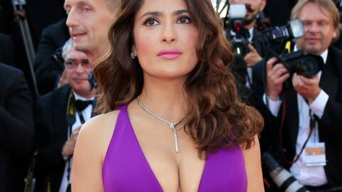 PHOTO Salma Hayek topless pour Allure Magazine