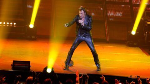 Johnny Hallyday se réconcilie avec son fils sur scène