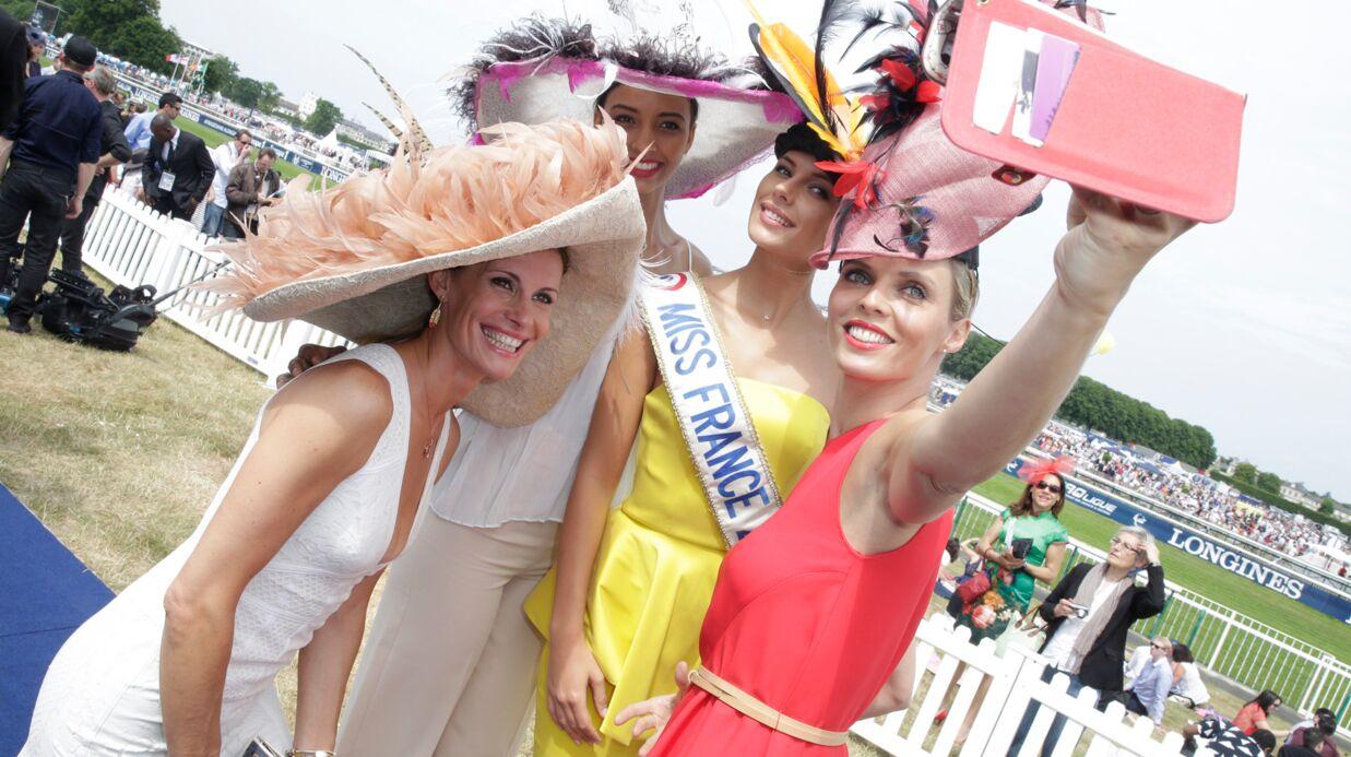 PHOTOS Les Miss France s'éclatent au Prix de Diane Longines