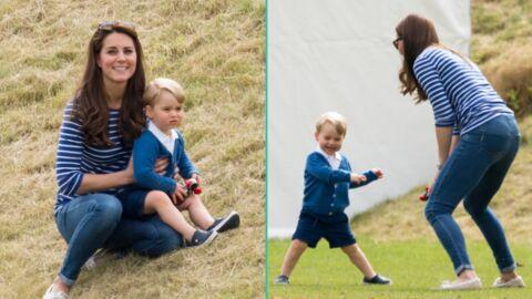 PHOTOS Kate Middleton: ravissante pour sa 1ère sortie après son accouchement avec le turbulent prince George