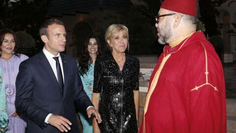 PHOTOS Brigitte Macron en déplacement au Maroc: deux robes très classes pour une journée