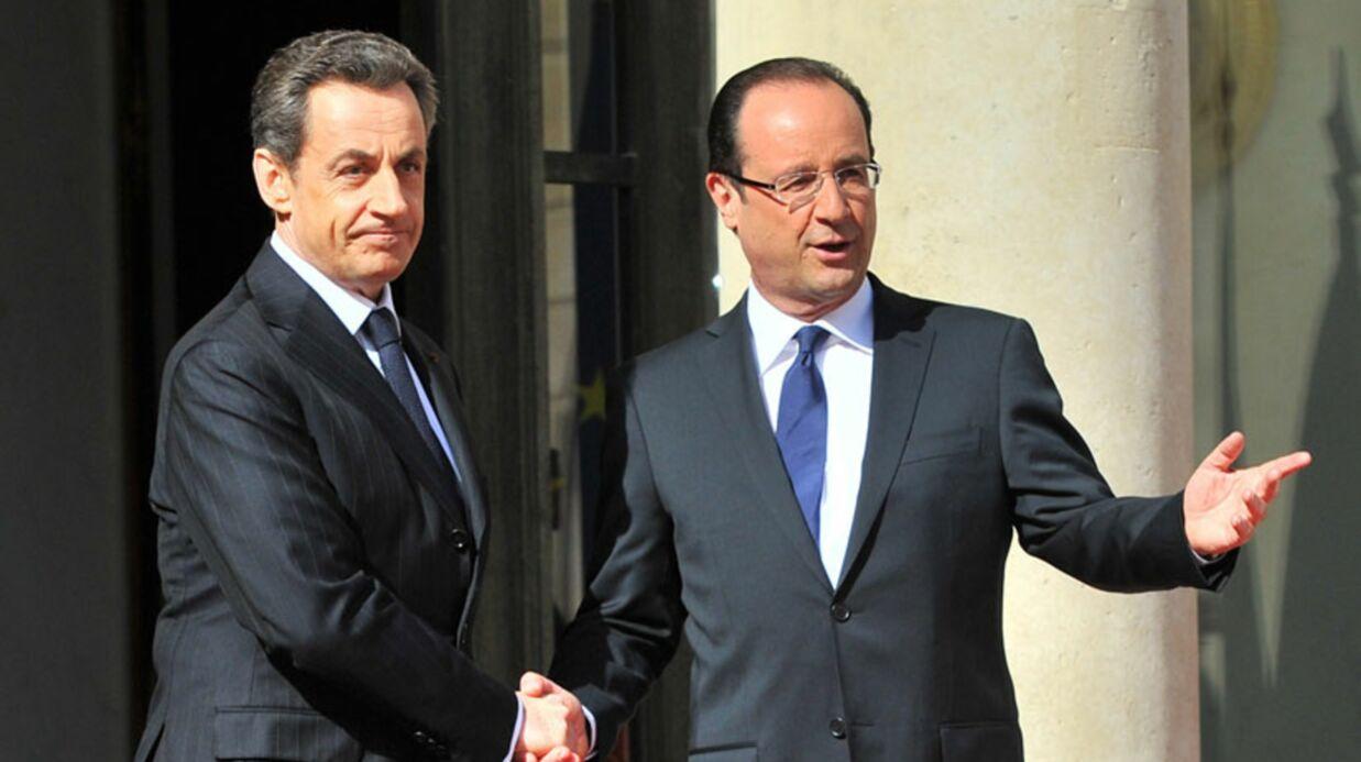 François Hollande: son avion touché par la foudre, retour à Paris