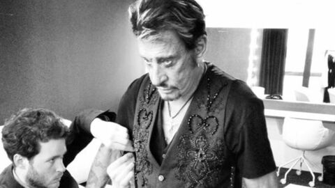 PHOTOS Les coulisses du premier concert de Johnny Hallyday en France