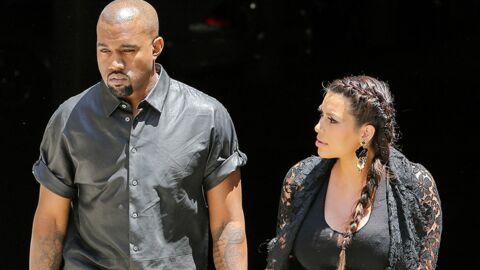 Le bolide de Kanye West se prend le portail de Kim Kardashian