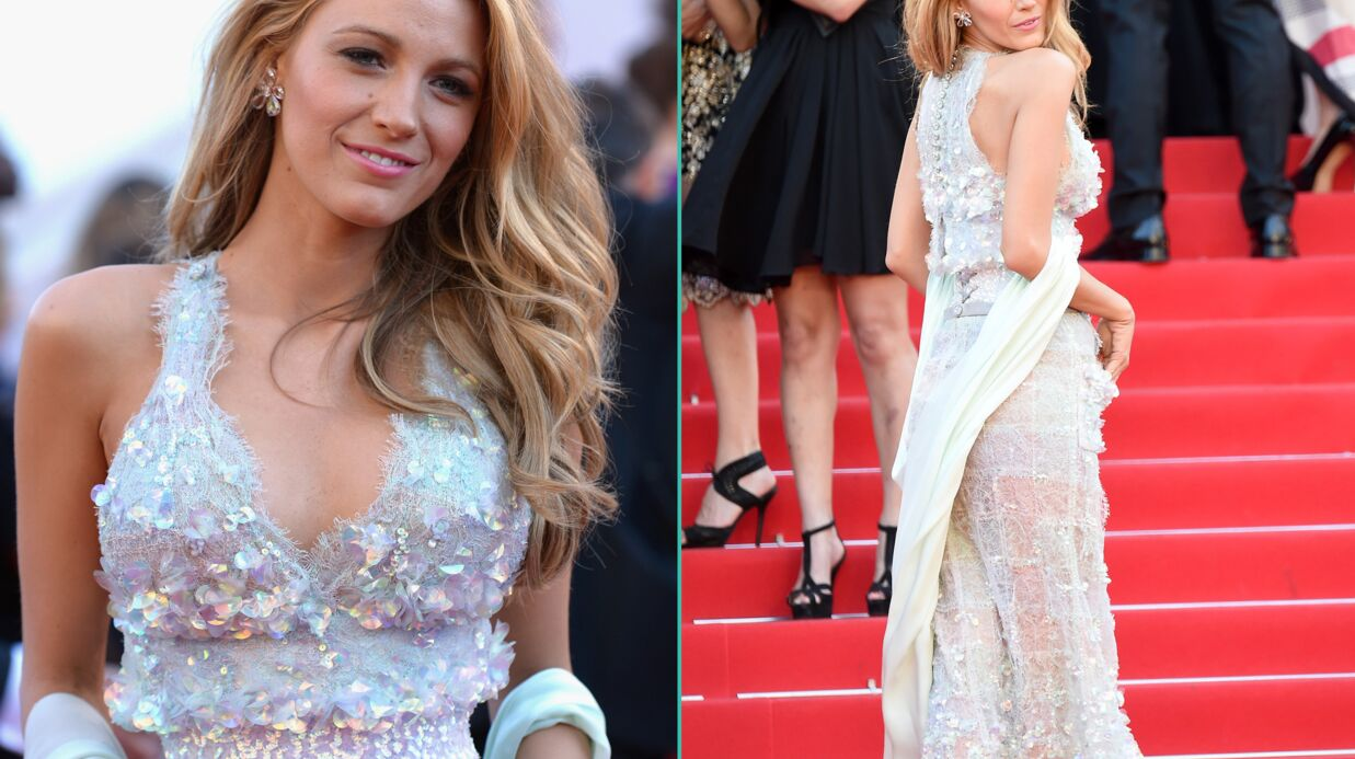 PHOTOS Cannes: Blake Lively et sa robe transparente enflamment le tapis rouge