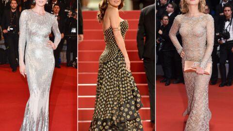 DIAPO Cannes 2015: Salma Hayek ultra glamour et bien entourée pour sa montée des marches