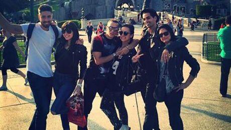PHOTO Alizée et Grégoire s'éclatent à Disneyland avec Christophe Licata et Coralie