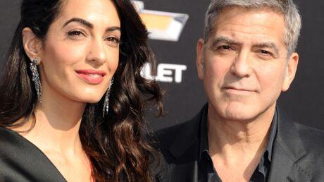 Georges Clooney trouve sa femme Amal parfaite… sauf aux fourneaux!