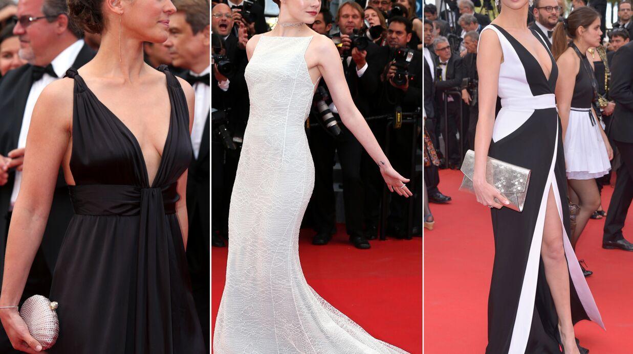 DIAPO Cannes 2015: Frédéric Bel et Lorie décolletées, Emma Stone sublime sur le tapis rouge