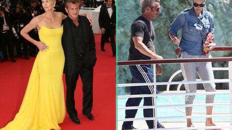 PHOTOS Cannes 2015: loin du tapis rouge, Sean Penn et Charlize Theron sont plus… relax