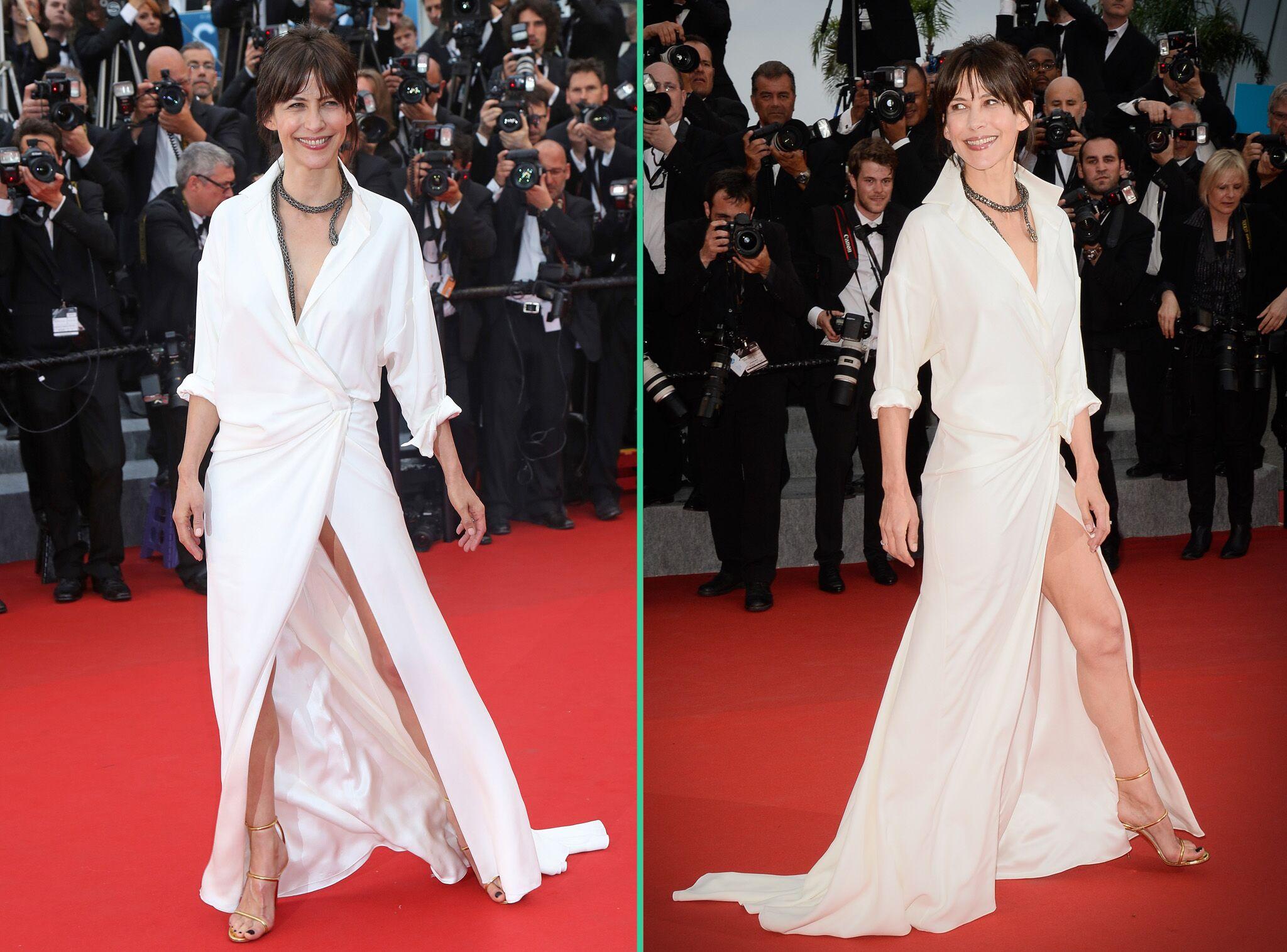 Cannes 2015 Après Un Sein Sophie Marceau Dévoile Sa Culotte Sur