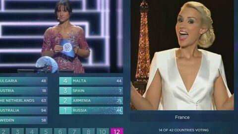 VIDEO Elodie Gossuin: grand moment de gêne lors de son discours à l'Eurovision
