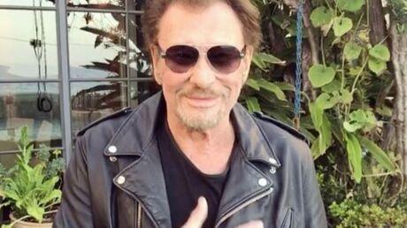 Johnny Hallyday remercie ses fans de le soutenir dans sa lutte contre le cancer